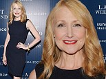 She's a black beauty! Patricia Clarkson turns heads in LBD at screening of Last Weekend in New York