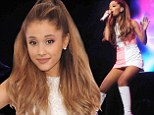 Cheating boyfriend: Ariana Grande, shown on Sunday at the Teen Choice Awards in Los Angeles, has revealed that she's nearly positive an ex-boyfriend cheated on her with another man