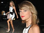 Taylor Swift was back to her glamorous best just hours after playing a dork on Jimmy Fallon's talk show