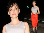 Actress Rose McGowan dines out at Craig's restaurant in West Hollywood, CA\n\nPictured: Rose McGowan\nRef: SPL820763  130814  \nPicture by: Roshan Perera / Splash News\n\nSplash News and Pictures\nLos Angeles: 310-821-2666\nNew York: 212-619-2666\nLondon: 870-934-2666\nphotodesk@splashnews.com\n