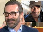 'You still violating people's privacy on airplanes?': Matt Lauer catches Jon Hamm taking sneaky selfie without Today Show host's permission