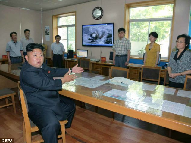 Public criticism is rare in North Korea, with Kim usually keen to praise government agencies in an attempt to pass his regime off as a success