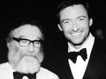 thehughjackman\n10 hours ago\n#TBT ...Remembering laughing with Robin backstage at the #tonyawards in 2011. Robin Williams - you made us laugh til we cried. Rest in peace, mate.