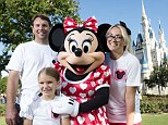 Jamie Lynn Spears takes break from touring to spend family Disney day at the Magic Kingdom with husband and six-year-old daughter