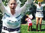 Ivanka Trump and daughter Arabella do ice bucket challenge - Instagram video 15 Aug 2014 Caption: 'Uncle @joshuakushner...we accept your challenge! Jared, @ladyandprince & @abigail_klem you're up next! #ALSicebucketchallange #icebucketchallange'
