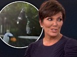 What about Kim? Kris Jenner squeals her way through the ALS ice bucket challenge... then challenges P Diddy to do the same