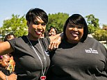 Remembering: Jennifer and Julia Hudson at the annual charity event to remember Julian D King