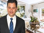 Jimmy Kimmel puts his five bedroom Lake Hollywood mansion on the market for $2.29m... complete with a recording studio