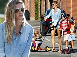 14 August 2014 - EXCLUSIVE. Gisele Bundchen is seen out at the park near her home in Boston with her 3 children and dog Credit: BG/GoffPhotos.com   Ref: KGC-300/140814R4 **Exclusive - Papers Allrounder - Mags Double Space Rates - Web/Online MUST Call Before Use**