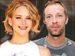 Chris Martin is 'quietly dating Jennifer Lawrence' after rumours estranged wife Gwyneth Paltrow's is romancing Glee co-creator Brad Falchuk