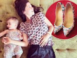 Like mother, like daughter! Tammin Sursok's baby girl Phoenix has inherited her love of designer shoes