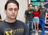 Macaulay Culkin's brother Kieran Culkin makes a rare appearance as he readies to take the Broadway stage in This Is Our Youth