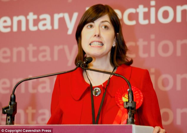 Labour MP Lucy Powell, pictured, urged ministers to help end cultural barriers which prevent men from taking their statutory leave entitlement