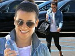 She deserves it! Lea Michele treats herself to some relaxation at the spa after working on her second book