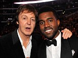 Long time friends: Kanye West hopes to collaborate with legendary musician Sir Paul McCartney