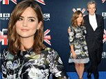 Doctor Who? Show star Peter Capaldi left in the shade by sidekick Jenna Coleman after she wears lovely silk gown to US premiere