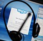 The Skype internet phone program is seen September 1, 2009 in New York City. According to reports, May 05, 2011 Microsoft is in talks to purchase the internet phone service.    NEW YORK - (FILE ) In this photo illustration,  (Photo Illustration by Mario Tama/Getty Images)
