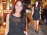 17 Aug 2014 - LONDON - UK\n*** EXCLUSIVE ALL ROUND PICTURES WITH A £300 MINIMUM USAGE FEE STRICTLY FOR UK NEWSPAPERS ONLY***\nTULISA CONTOSTAVLOS SMILING ON A CLUB-CRAWL IN LONDON ON SATURDAY NIGHT WHERE HER LIPS APPEARED TO HAVE SLIGHTLY LOST THEIR RECENT SWELLING. SHE WENT TO THE W HOTEL AT THE BEGINNING OF THE NIGHT, FOLLOWED BY THE FREEDOM BAR IN SOHO AND THEN 'STAMP' CLUB ON OXFORD STREET. SHE WAS ACCOMPANIED BY HER PA GARETH VAREY\nBYLINE MUST READ : XPOSUREPHOTOS.COM\n***UK CLIENTS - PICTURES CONTAINING CHILDREN PLEASE PIXELATE FACE PRIOR TO PUBLICATION ***\n**UK CLIENTS MUST CALL PRIOR TO TV OR ONLINE USAGE PLEASE TELEPHONE 44 208 344 2007**
