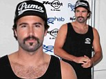Brody Jenner debuts cheesy new moustache as he celebrates his upcoming 31st birthday at DJing gig in Las Vegas
