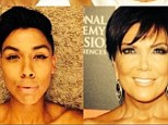 Well the tan is about right: Another user sends up the look of Kris Jenner