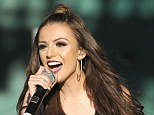 That's a blinder! The 21-year-old showed off her perfectly white teeth as she sang her hits