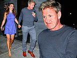 Malibu, CA - Scottish celebrity chef, restaurateur, and television personality, Gordon Ramsay, enjoyed dinner with his wife Tana and daughter Jane at the trendy Nobu in Malibu. AKM-GSI          August  16,   2014 To License These Photos, Please Contact : Steve Ginsburg (310) 505-8447 (323) 423-9397 steve@akmgsi.com sales@akmgsi.com or Maria Buda (917) 242-1505 mbuda@akmgsi.com ginsburgspalyinc@gmail.com
