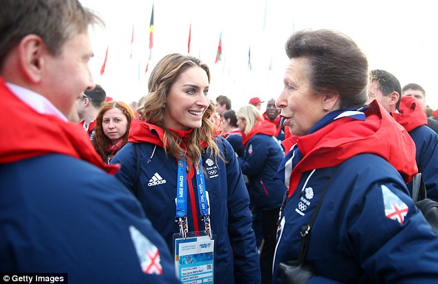 Past champion: Amy Williams won the gold medal in the skeleton bob at the last Winter Olympics and says she didn't realise the scale of her achievement until Yarnold's win