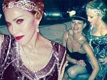 Madonna poses with pal Kate Moss as she celebrates 56th birthday with lavish 1920s-themed bash at luxurious French villa