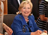 """EAST HAMPTON, NY - AUGUST 16:  Hillary Rodham Clinton signs copies of her book """"Hard Choices"""" at BookHampton on August 16, 2014 in East Hampton, New York.  (Photo by Sonia Moskowitz/Getty Images)"""