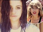 'I accept': Selena Gomez took on the ice bucket challenge on Saturday after being nominated by gal pal Taylor Swift, with whom it was rumoured she was feuding earlier this year