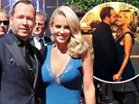 'Sometimes when you lose you really win!' Donnie Wahlberg shares loved-up snap with fiancee Jenny McCarthy after losing Creative Arts Emmy