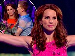 'I've loved every minute of it!' Injured Loose Women star Andrea McLean gives gets emotional as she becomes the first celebrity to crash out of gymnastics show Tumble