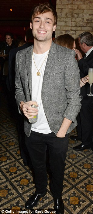 Standing out from the crowd: Paloma Faith and Douglas Booth went for a smart casual look at the exclusive party