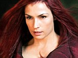 Healthy living: Famke, pictured in X-Men, does not eat meat, avoids dairy and tries not to drink water out of plastic bottles