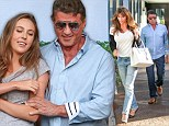 Sylvester Stallone and his family swap the red carpet for a sushi restaurant in Beverly Hills on Friday
