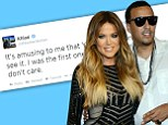 Khloe Kardashian dismisses concerns from her fans that French Montana is using her for fame