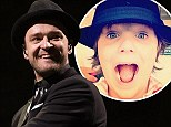 What a guy! Justin Timberlake sings Happy Birthday to eight-year-old autistic boy... along with 25,000 audience members
