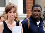 All over? It would appear banking heiress Kate Rothschild's relationship with rapper Jay Electronica has cooled