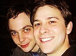 Denying the rumours: Jim Parsons Instagrammed this image on Friday, writing, 'Me and Todd in 2003. Still very happy today... And NOT engaged! #justFYI...'
