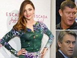 Miranda Kerr denies involvement in James Packer and David Gyngell's brawl... and admits sending nanny to help Orlando Bloom