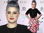 Hello petal! Kelly Osbourne sports an elegant updo and pretty floral skirt as she attends BeautyCon