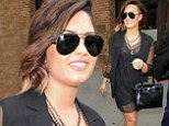 That's a nice change! Demi Lovato looked especially sophisticated as she stepped out in New York City on Saturday