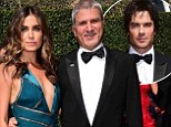 It's getting serious! Nikki Reed walks the red carpet at the Creative Arts Emmys with dad Seth before introducing him to new boyfriend Ian Somerhalder