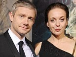 Not a twit: Martin Freeman's partner Amanda Abbington has banned him from Twiter and social media because she fears he would say something he would later regret