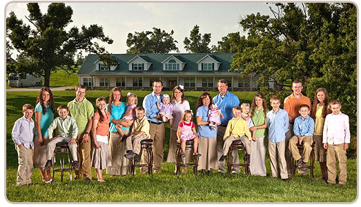 Duggar Family and the Cast of 19 Kids and Counting