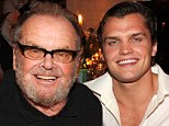 Jack Nicholson and his son Ray