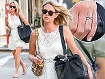 Picture Shows: Nicky Hilton  August 18, 2014    Socialite Nicky Hilton carries her cat in a pet bag, as she steps out in New York wearing a simple white skater dress.    Non Exclusive  UK RIGHTS ONLY    Pictures by : FameFlynet UK    2014  Tel : +44 (0)20 3551 5049  Email : info@fameflynet.uk.com