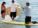 Their Greek odyssey continues: Tom Hanks and wife Rita Wilson can't stay away from the paddle boards on extended holiday