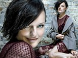 Elisabeth Moss flashes a bit of skin as she reveals her girl crush to Jon Hamm in new magazine cover shoot