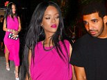 Getting close again? Rihanna and Drake have sparked speculation that romance could well be on the cards for as they were spotted making their way out of the same nightclub on Monday night